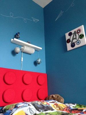 Bespoke Lego Headboard