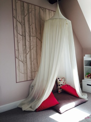 Girl's Reading Nook