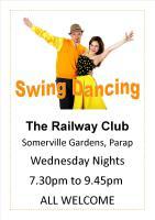 Swing Dancing at The Railway Club