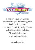 VicRock Website