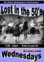 Lost in the 50's - British Workingmen's Club