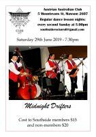Southside Rock n Roll Club - Midnight Drifters - 29th June 2019