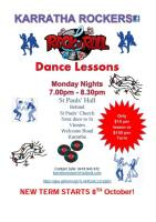 Karratha Rockers Dance Lessons - Every Monday Night