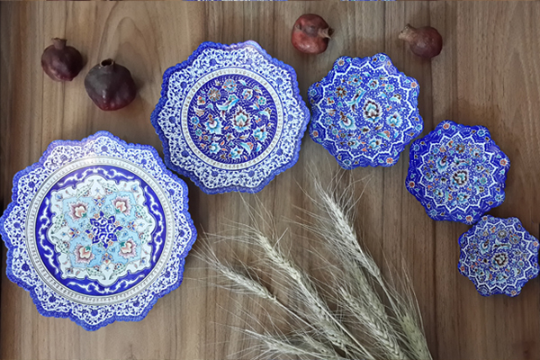 Mina enamel Art, handmade,persia,Decoration,gift