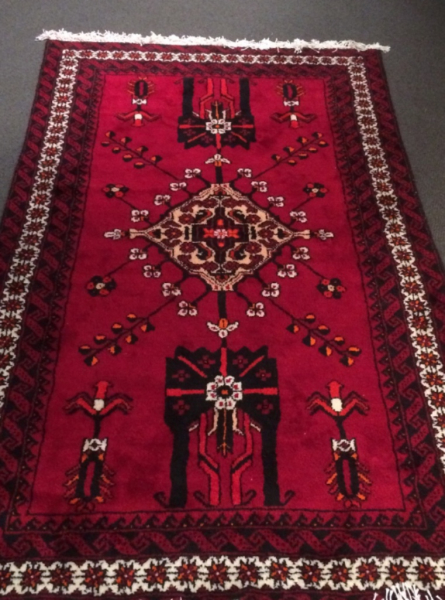 Persian Rug,wool , knot