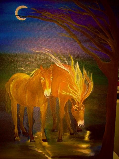 Miracles, dreams, energy, Horses Bridget Webber