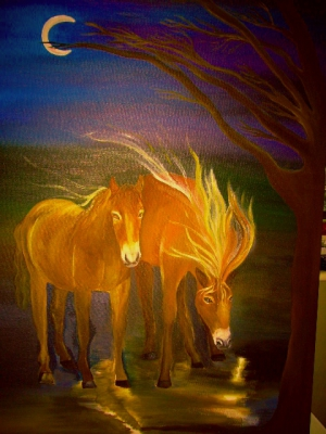 Miracles, dreams, energy, Horses Bridget Webber
