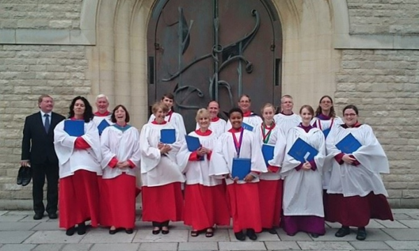 St. Botolph's, Heene choir at Portsmouth Cathedral, Sept. 14.