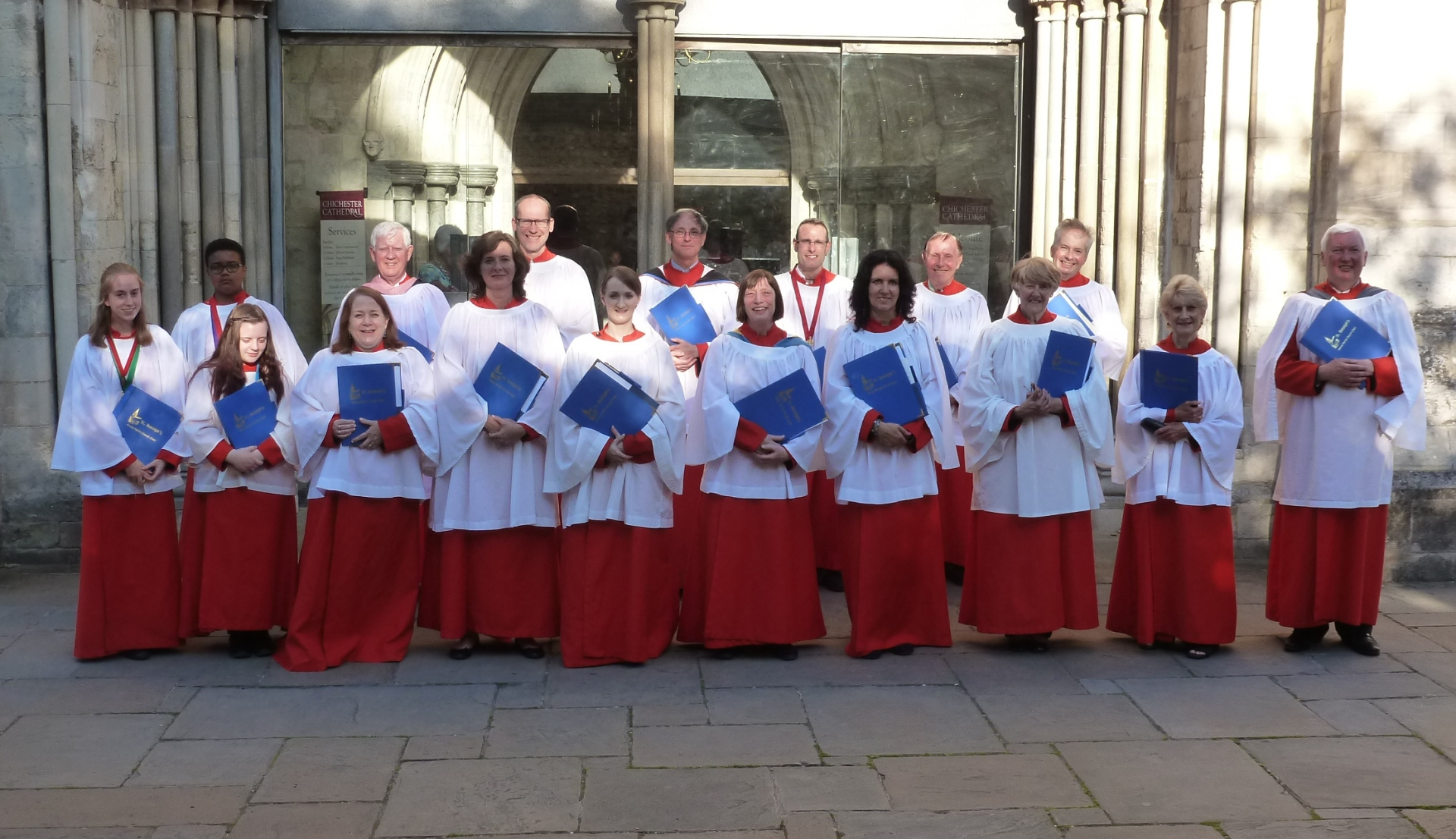 St. Botolph's, Heene choir at Chichester Cathedral, 8.8.15