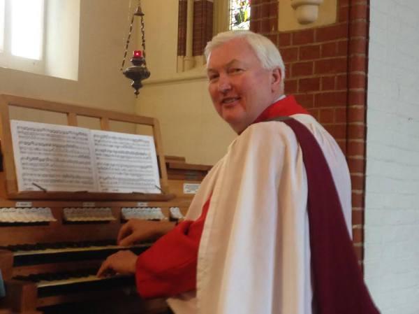 Neil Turner, Organist and Choirmaster, St. Botolph's, Heene