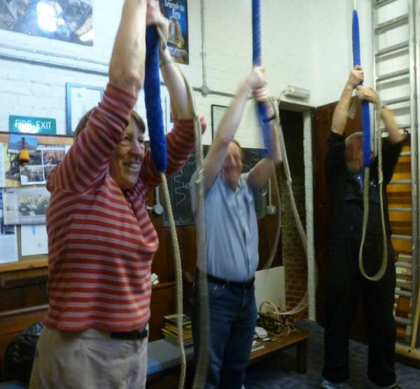 Ringing the bells at St. Botolph's