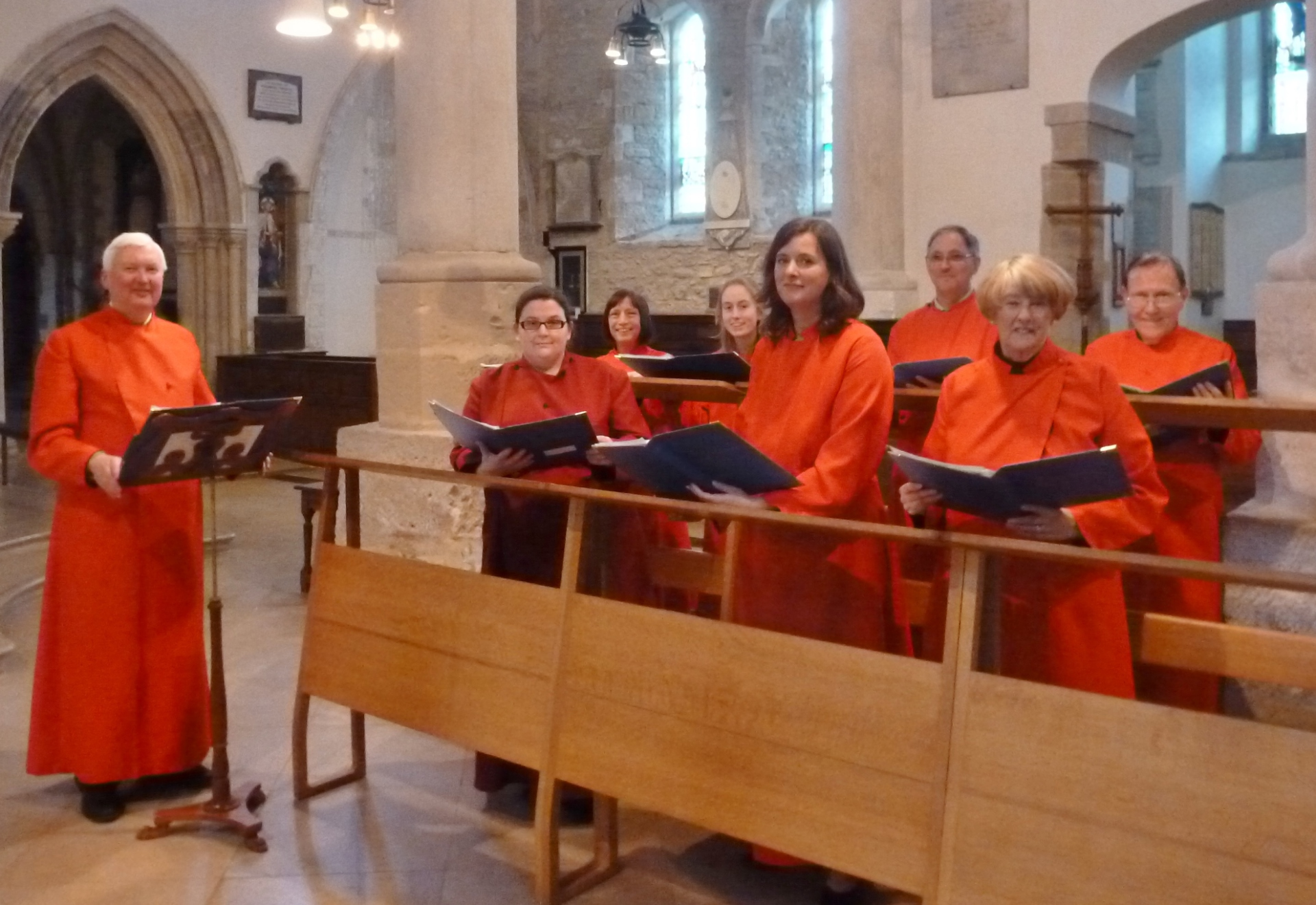 St. Botolph's Choir at Portsmouth Cathedral, 18.2.16
