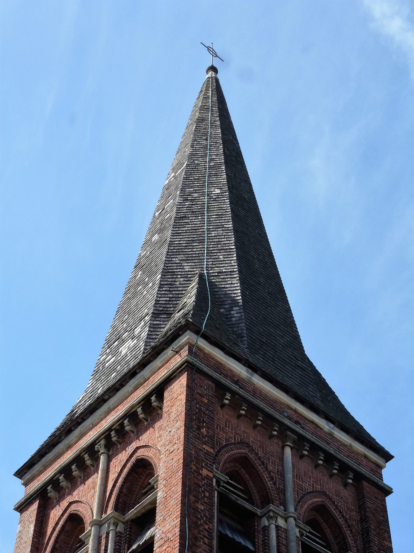St. Botolph's, Heene, spire, 4.5.16