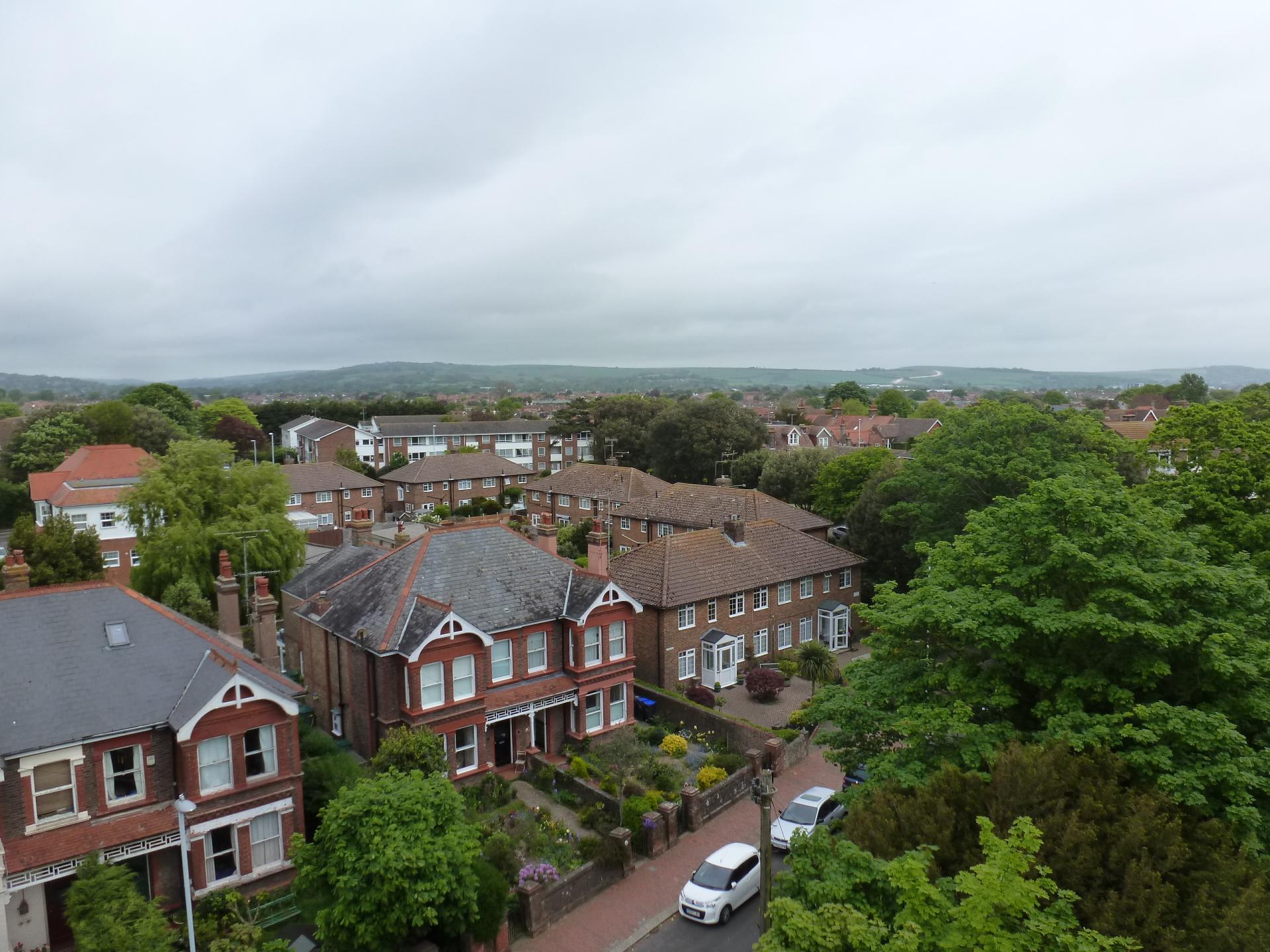 Heene view from St. Botolph's, Heene, 21.5.16
