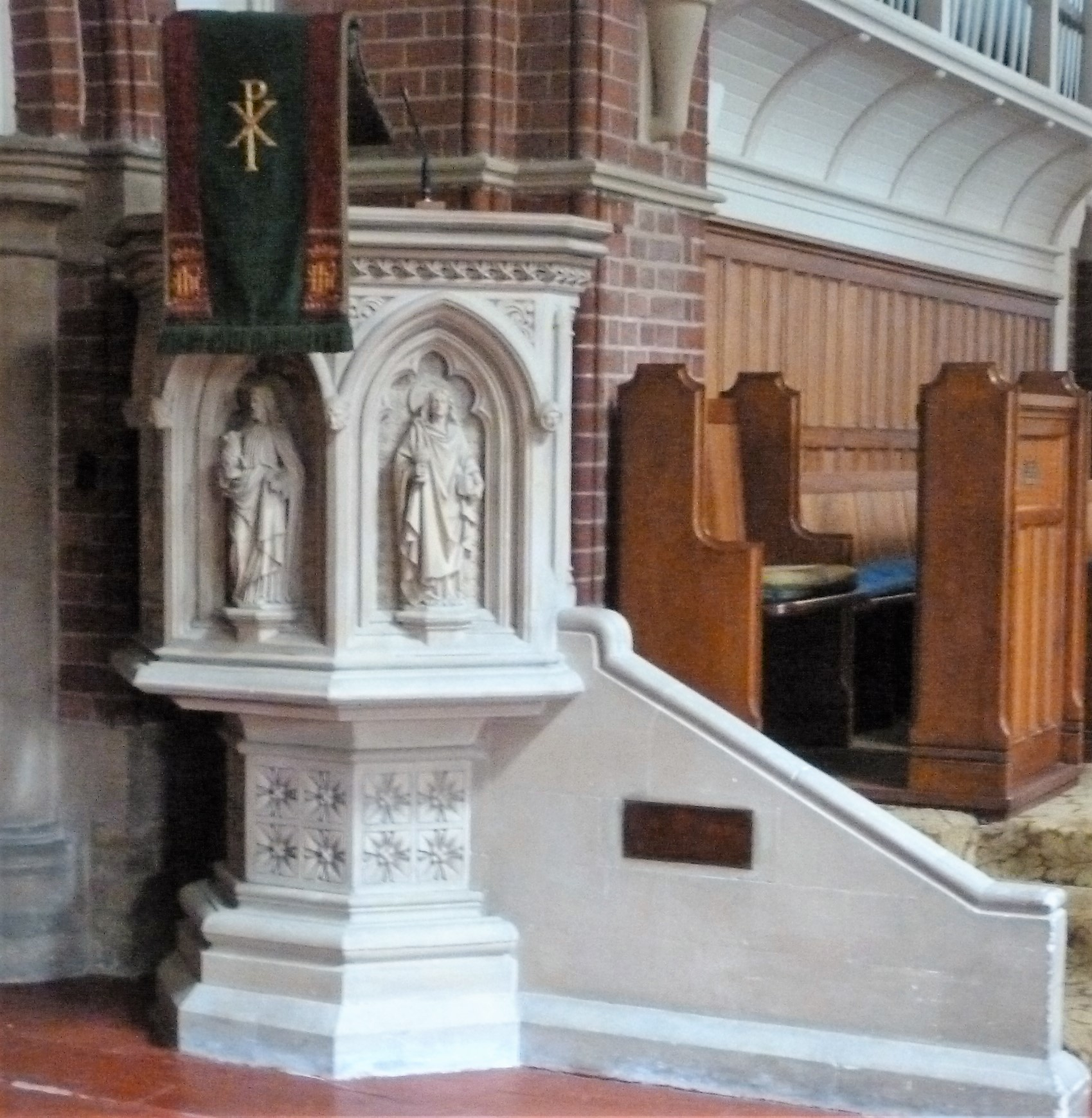 Pulpit at St. Botolph's Church, Heene