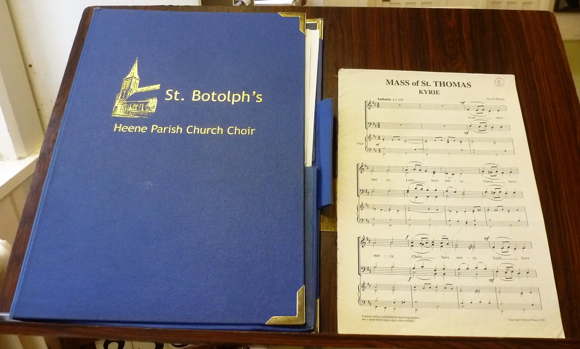St. Botolph's Church Choir at Portsmouth Cathedral