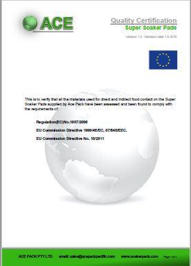 Super Soaker Pads EU Commission Directive