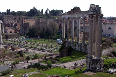 Coloseum & Roman Forum