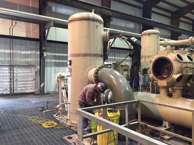 INDUSTRIAL PIPING PLANT MODIFICATION