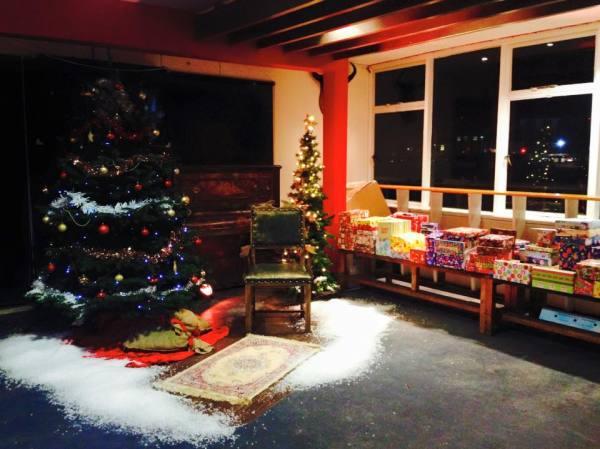 Sports Bar Christmas