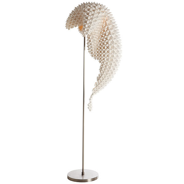 Dragons tail floor lamp