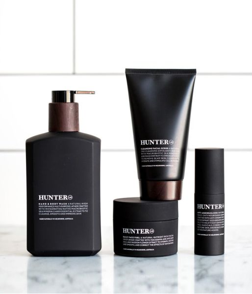 Hunter Skincare range