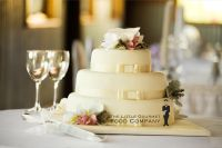 The Little Gourmet Food Company Wedding Cake