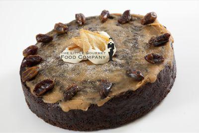 Caramelised Pear & Date Cake
