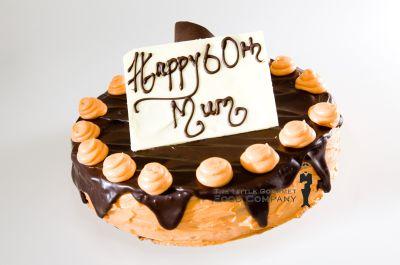 Orange Chocolate Layered Jaffa Cake