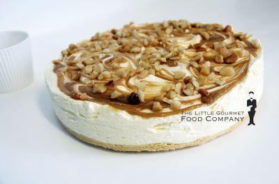 Salted Caramel Macadamia Cheesecake GF