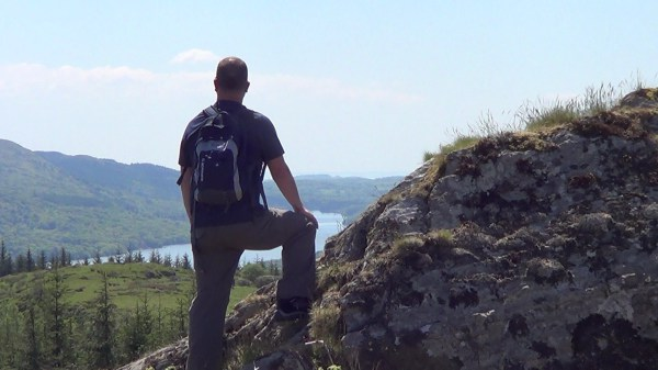 High Pate Crag overlooking Lake Windermere