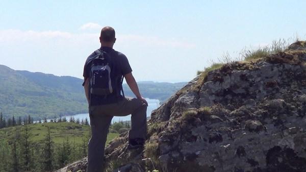 High Pate Crag overlooking Lake Windermere