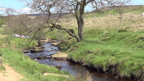 Burbage Brook in the Longshaw Estate