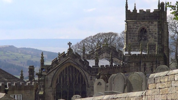 St Nicholas Church, High Bradfield in the Peak District