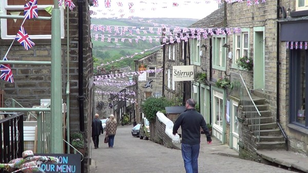 Main Street in Haworth