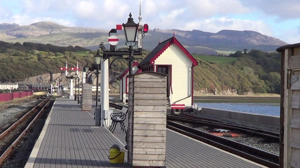 The Cob in Porthmadog, the terminus of the Ffestiniog Railway
