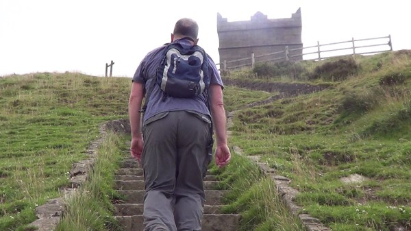 Ascending Rivington Pike