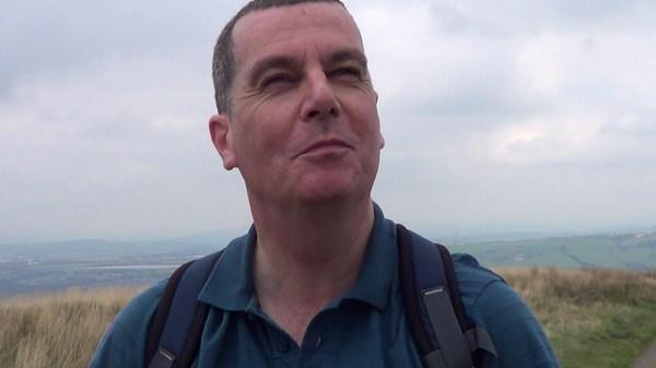 Climbing Darwen Hill