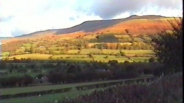 Black Mountains near Tretower