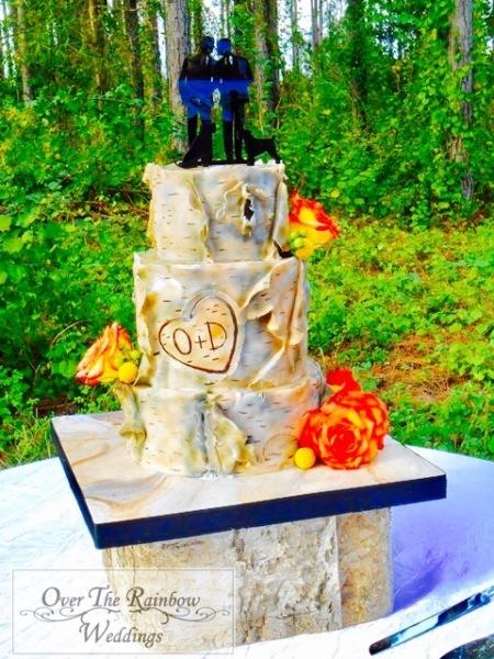 David & Oscar's Rustic Woods Wedding October 15, 2016 8