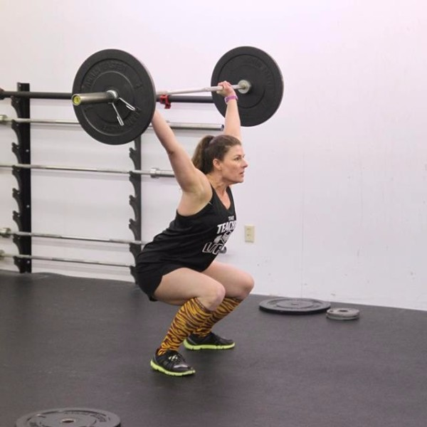 October Athlete of the Month - Becky Anderson