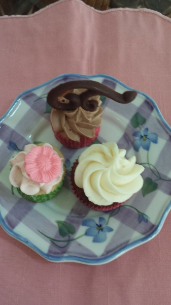 Mini-Carrot-Cake-Chocolate--Strawberry-Cupcakes