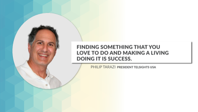 """Finding something that you love to do and making a living doing it is SUCCESS"". Philip Tarazi – Pre"