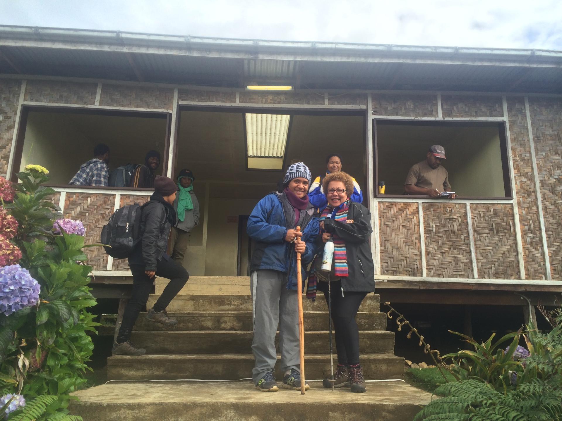 Camp JJ;  Mt Wilhelm; PNG Tourism; Mount Wilhelm; Climbing; Trekking; PNG; Papua New Guinea