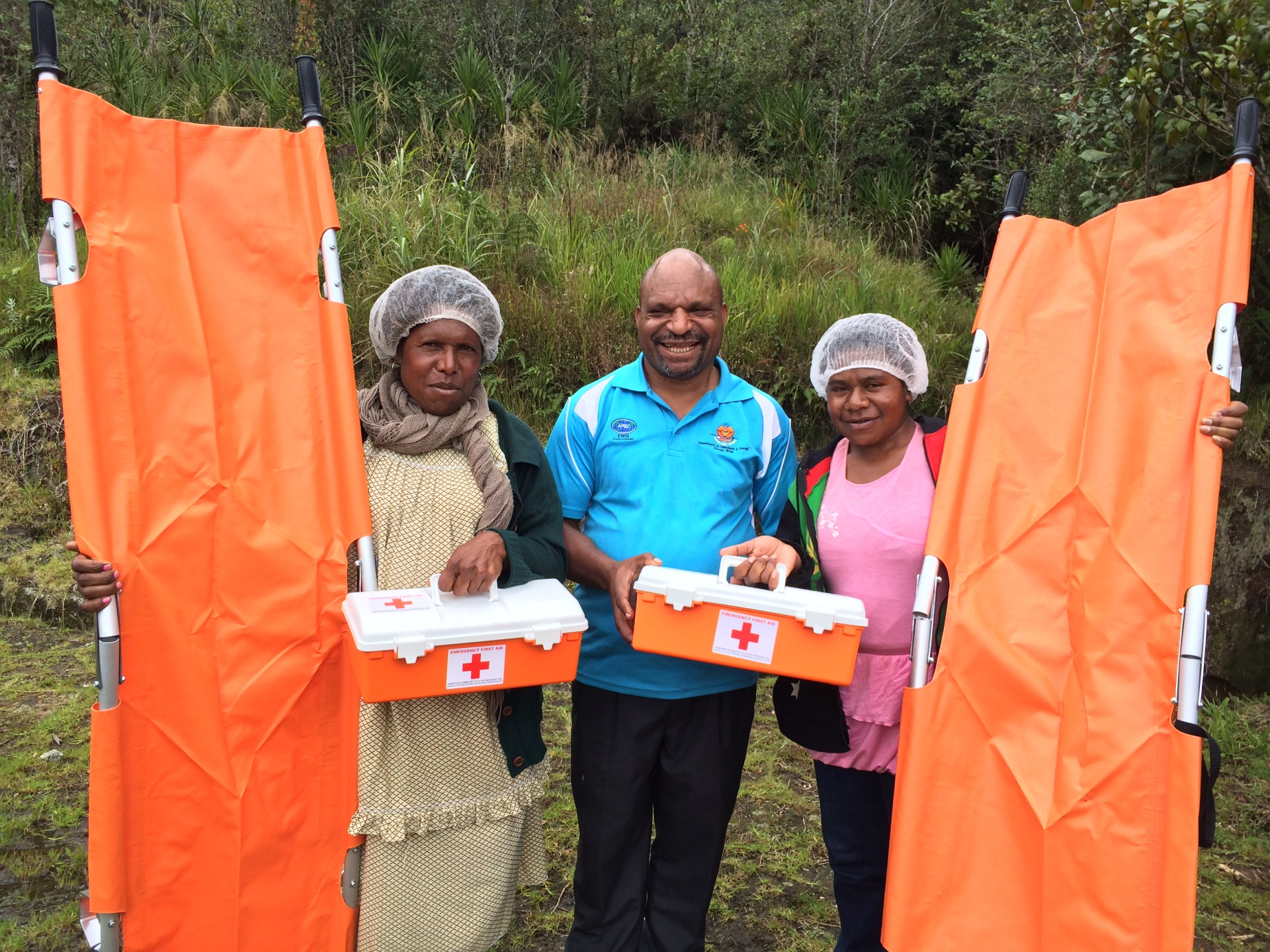 First Aid; Mt Wilhelm; PNG Tourism; Mount Wilhelm; Climbing; Trekking; PNG; Papua New Guinea