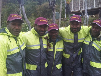 Ranger of Mt Wilhelm; First Aid; Mt Wilhelm; PNG Tourism; Mount Wilhelm; Climbing; Trekking; PNG; Papua New Guinea