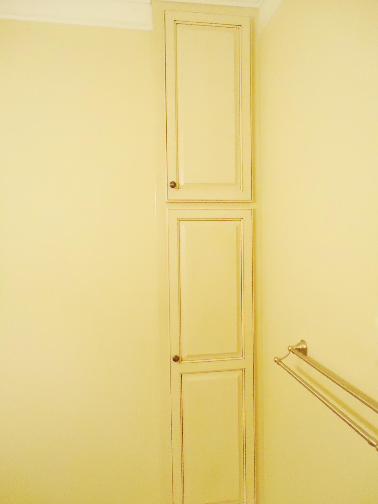 Custom Built Linen Cabinet