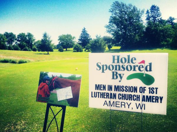 Proud sponsor of the Luther Point golf scramble