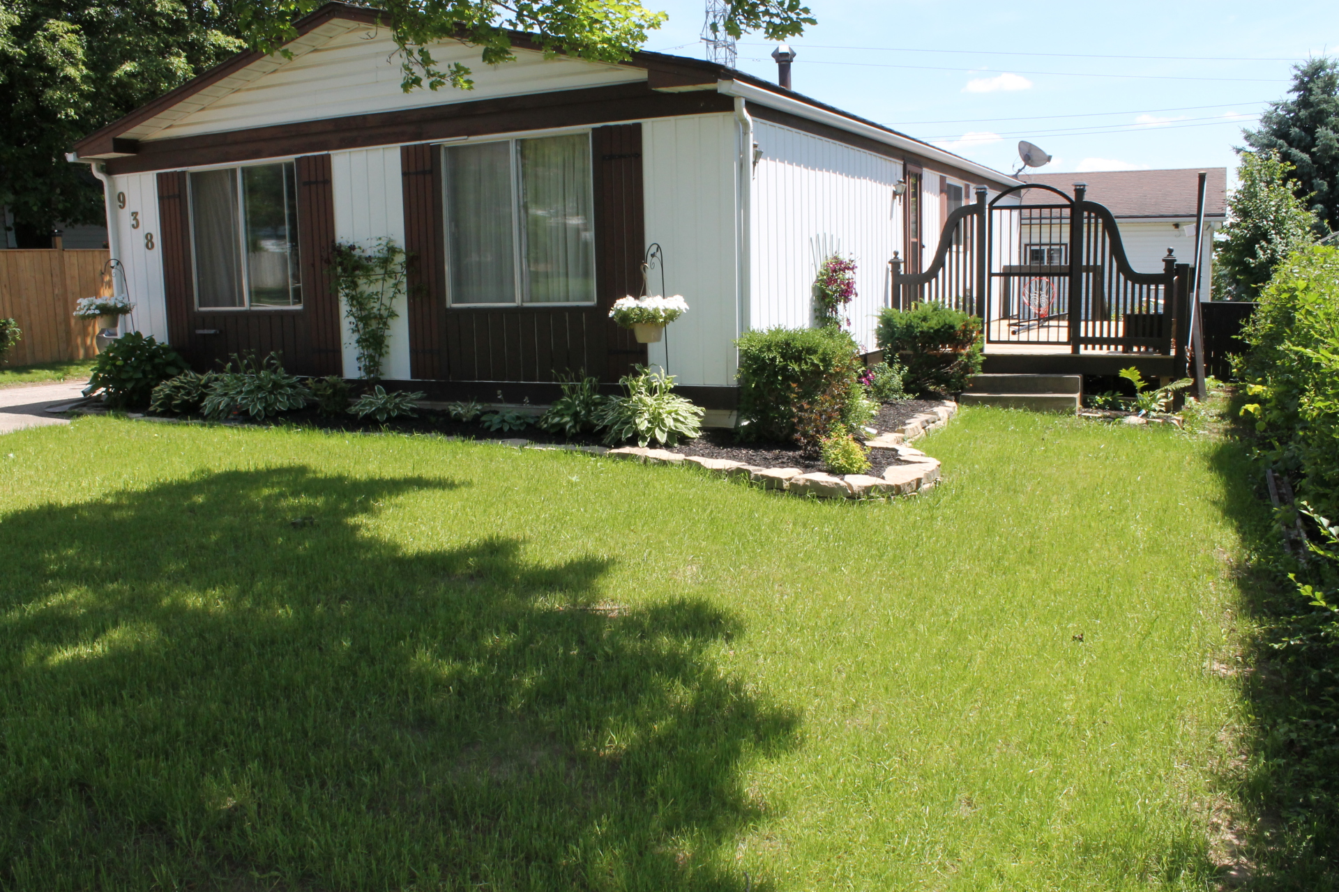Deck, Gate and landscaping and New Lawn
