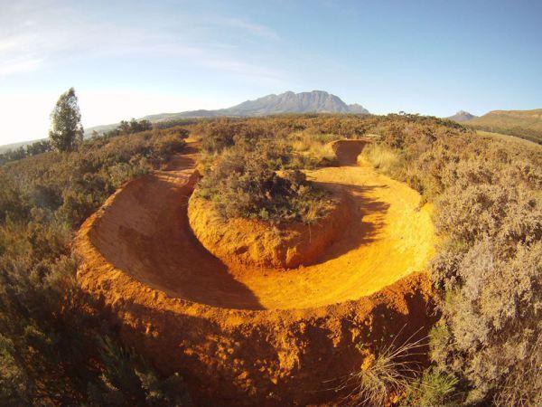 Gspot Trail Berm